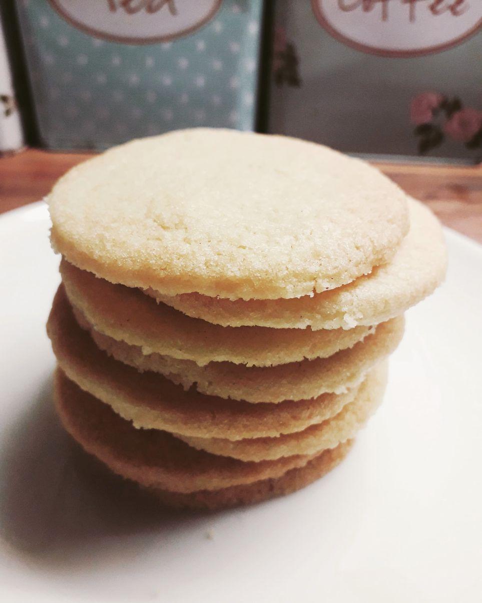 Vanilla Sugar Snap Cookies